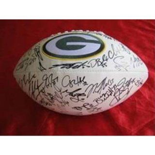 2011 2012 Green Bay Packers Team Signed Football