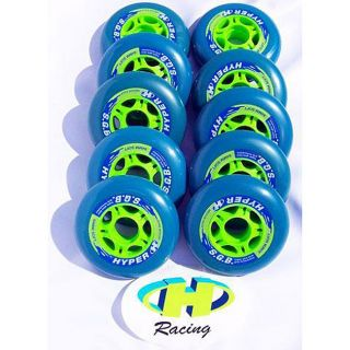 Hyper SGB 84 mm Soft Racing Inline Wheels (Set of 10)