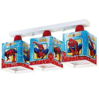 Dalber   Rampe 3 Lampes Carrées   Spider Man   Achat / Vente LUSTRE