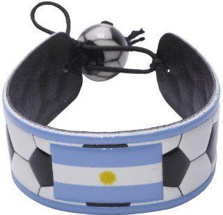 Argentina Flag Classic Soccer Bracelet