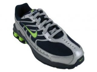 REAX RUN III (PS) RUNNING SHOES 6 (OBSIDIAN/CITRON MET SILVER) Shoes