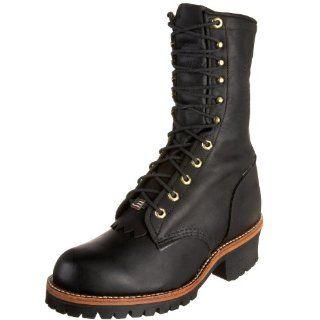 Chippewa Mens 10 Logger Boot Shoes
