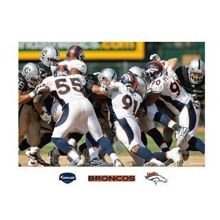 NFL Denver Broncos Defense In Your Face Mural Wall Graphic