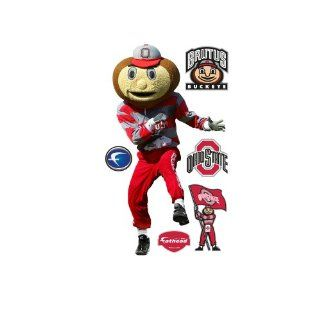 NCAA Brutus Buckeye Ohio State Buckeyes Wall Decal Sports