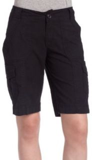 Jag Jeans Womens Cara Cargo Short,Black,2 Clothing