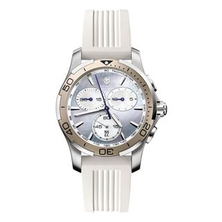 Swiss Army Womens Alliance Sport Chrono Purple Mother Of Pearl Dial