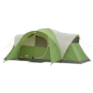 Coleman Montana 8 Tent w/Hinged Door   16 x 7 Sports