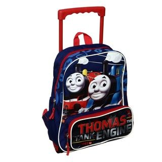 Thomas the Train Engine 12 inch Rolling Backpack