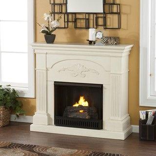 Gilbert Ivory Gel Fuel Fireplace