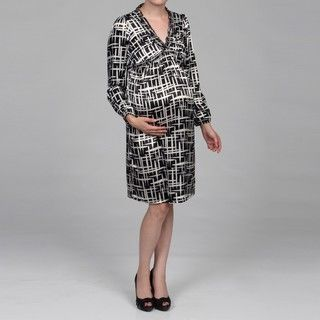 Everly Grey Womens Maternity Lilly Dress