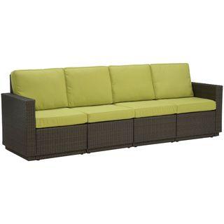 Riviera Green Apple Four Seat Sofa