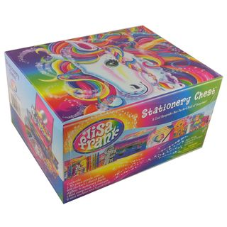 Lisa Frank Majesty Stationery Chest