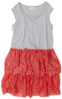 Splendid Little Girl 2 6x Lace Dress, Punch, 6X/7