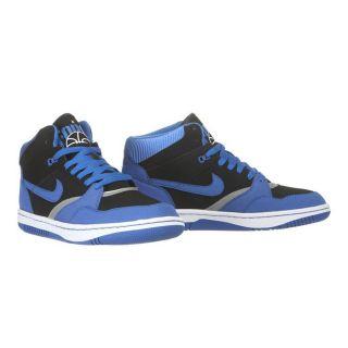 Modèle Sky Force 88 Mid. Coloris  noir, bleu et argent. Baskets NIKE