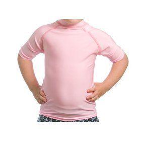 Beach Depot Toddler SPF 50+ Pink Rash Guard   Large 4T