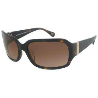 Diane Von Furstenberg Womens DVF532S Wrap Sunglasses
