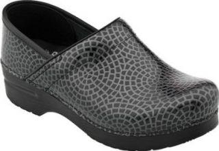 Dansko Professional Black Mosaic Shoes Shoes