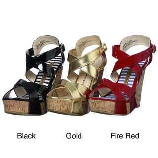Chinese Laundry Womens Drastic Wedge Sandals FINAL SALE