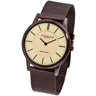 Stuhrling Original Unisex Newberry Ultra slim Swiss Watch