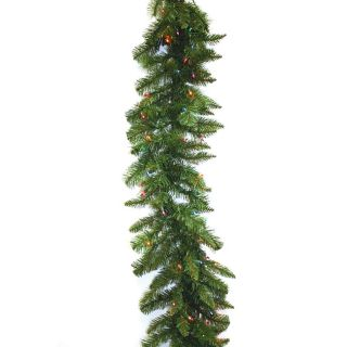 Good Tidings 96734 9 foot 100 lights Allegheny Fir Garland