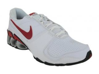 IMPAX ATLAS RUNNING SHOES 12 (WHITE/VAR RED MET SILVER RED) Shoes