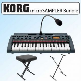 Korg Microsampler 37 Natural touch Mini key Sampling Keyboard Kit