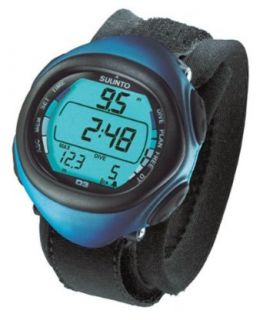 Suunto D3 Wrist Top Freediving Computer Watch (Blue