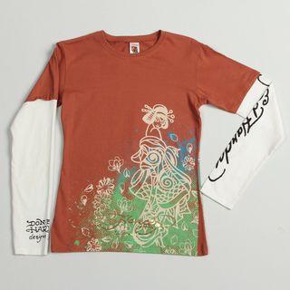 Ed Hardy Girls Geisha Tiger T shirt