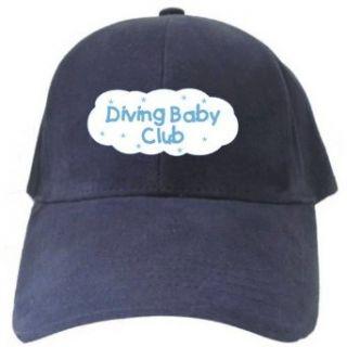 Diving BABY CLUB Navy Blue Baseball Cap Unisex Clothing