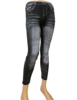 TheLees (RUS 006) Women Washing Jeans Printed Tight