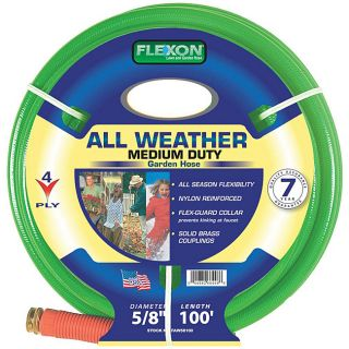 Flexon All Weather (0.625 x 100) Garden Hose