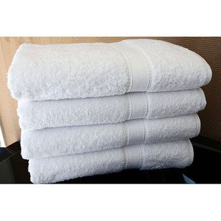 Authentic Hotel and Spa Turkish Cotton Bath Towels (Set of 4