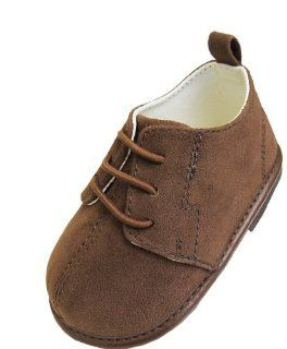 Infant Toddler Boys Tan Suede Shoe   Size 9 12 Months Shoes