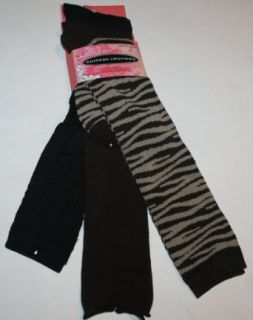 Chinese Laundry Womens/Juniors Knee Socks 3 Pair Black