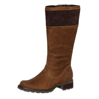 Sebago Womens Saranac High Light Brown Leather Boots