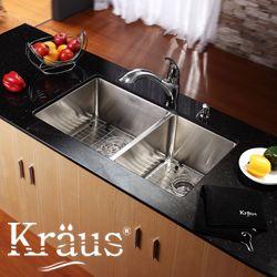 Kraus Stainless Steel Kitchen Sink Bottom Grid