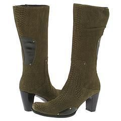 Lumiani A9062 Python Suede/Green Boots