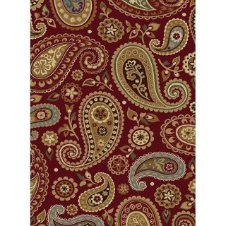 Infinity Collection Red Area Rug (710 x 103)