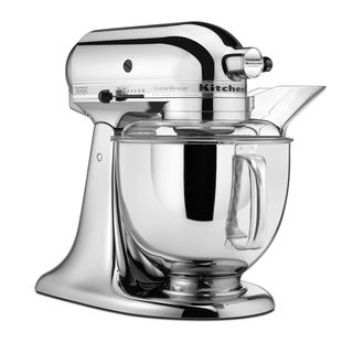 KitchenAid Custom Metallic Chrome Artisan 5 quart Stand Mixer