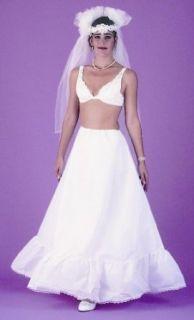 MEDIUM POUFF WEDDING BRIDAL BRIDESMAID SLIP CRINOLINE