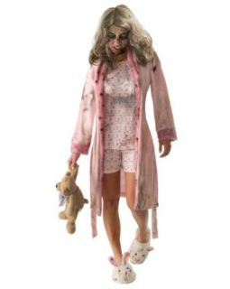 The Walking Dead   Pajama Zombie Teen Costume Clothing