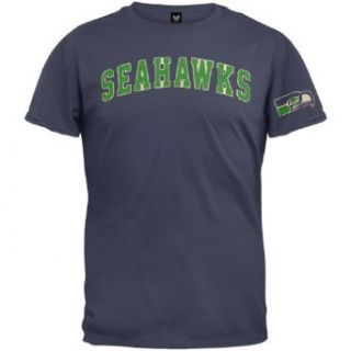 Seattle Seahawks   Logo Fieldhouse Premium T Shirt