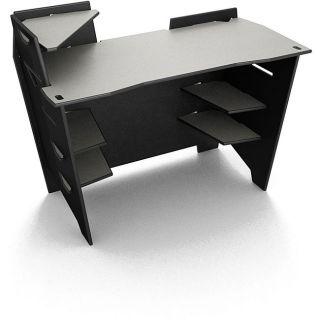 Legare 48 inch Reversible Black/ Titanium Desk