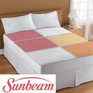 Sunbeam Therapeutic Queen size Electric Heated Zone Mattress Pad