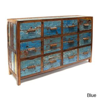 Ecologica Reclaimed Wood File Cabinet