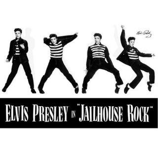 Presley Jailhouse Rock   Poster 61 x 91.5 cm.… Voir la présentation