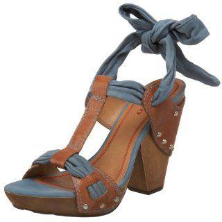Miss Sixty Womens Zaire Sandal,Jeans,35 M US Shoes