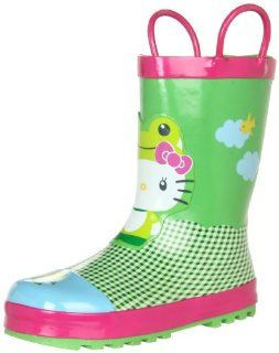 Chief Hello Kitty Froggy Rain Boot (Toddler/Little Kid/Big Kid) Shoes