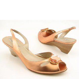 VIA SPIGA Eva Bronze New Wedges Shoes Womens 8.5 VIA SPIGA Shoes