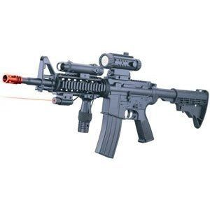 Electric M16 Assault Rifle FPS 170, Foregrip, Collapsible
